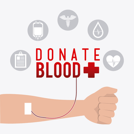 donation: Blood donation design, vector illustration eps 10.