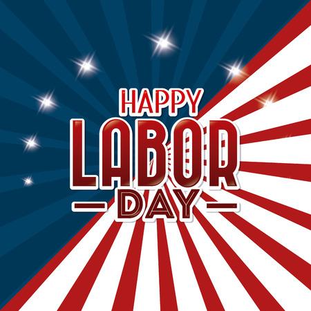 Happy labor day design, vector illustration eps 10. 일러스트