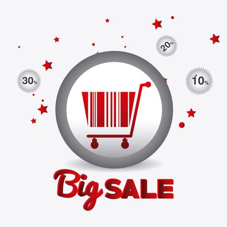 codebar: Hot price shopping design, vector illustration eps 10. Illustration