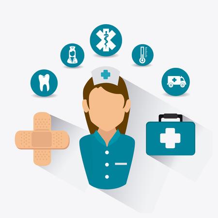 healtcare: Medical healtcare design, vector illustration eps 10.