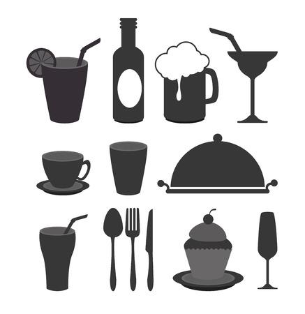nutritive: Restaurant digital design, vector illustration eps 10.