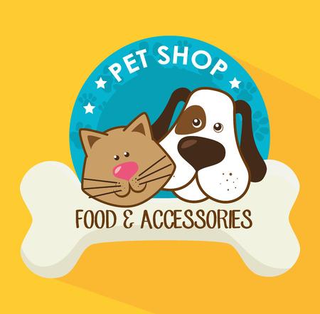 pet shop: Pet shop design, vector illustration eps 10.