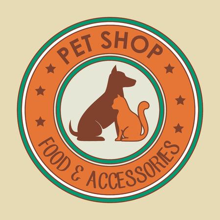 accesories: Pet shop design, vector illustration eps 10.
