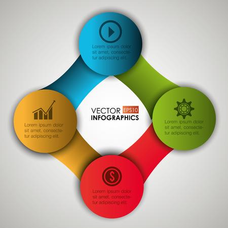 statics: Infographic digital design, vector illustration eps 10.