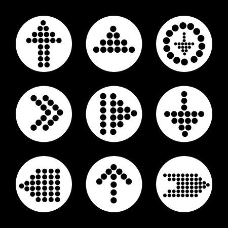 sucess: Arrows digital design, vector illustration eps 10.