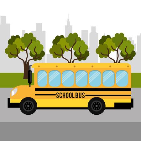 bus driver: Dise�o de los veh�culos de transporte, ilustraci�n vectorial eps 10.