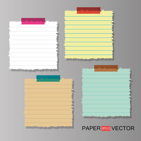 sheet of paper: Paper sheet design, vector illustration eps 10.