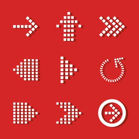 symbol: Arrows digital design, vector illustration eps 10.