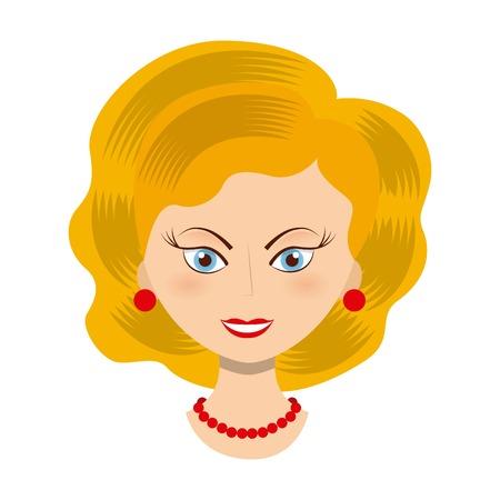 alte dame: alte Dame Design, Vector Illustration eps10 Grafik