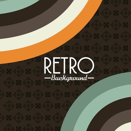 retro patterns: retro background design, vector illustration eps10 graphic Illustration
