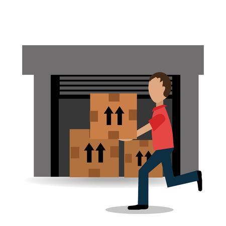 business products: Delivery design, vector illustration eps 10. Illustration