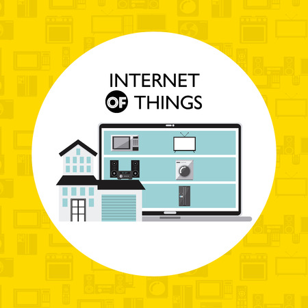home concept: internet things design, vector illustration eps10 graphic Illustration