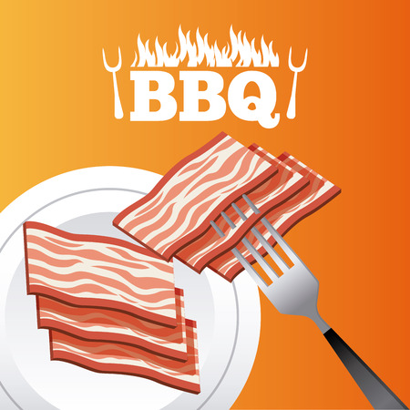 carnicer�a: butchery shop design, vector illustration eps10 graphic