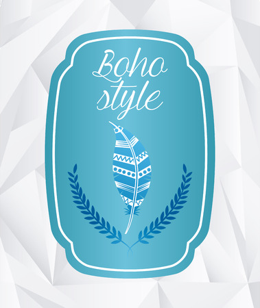 boho: boho style design, vector illustration eps10 graphic