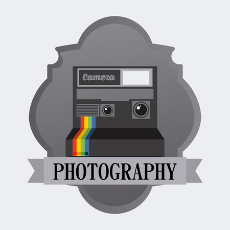old photograph: old style photograph design, vector illustration eps10 graphic Illustration