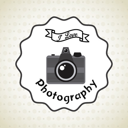old photograph: old style photograph design, vector illustration Illustration