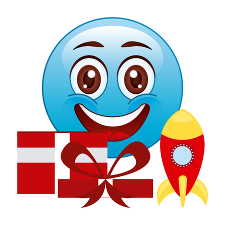 emoticons: emoticon concept design, vector illustration eps10 graphic Illustration