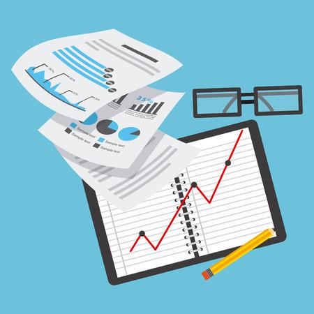 planificacion: business planning design, vector illustration eps10 graphic