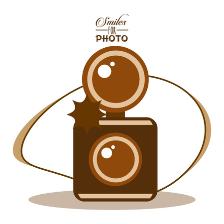 old style photograph design, vector illustration eps10 graphic Illustration