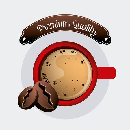 nutriments: Coffee drink design, vector illustration eps 10. Illustration