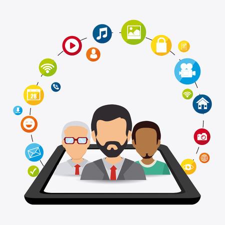 customer: Social media design, vector illustration eps 10.