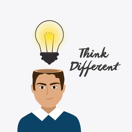 practical: Think positive design, vector illustration eps 10.