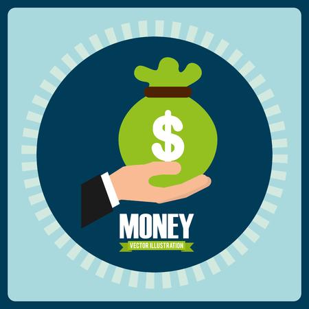 money concept: money concept design, vector illustration eps10 graphic