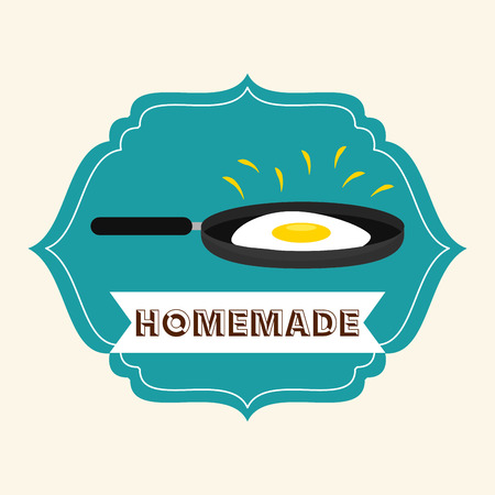 home product: homemade product design, vector illustration eps10 graphic Illustration