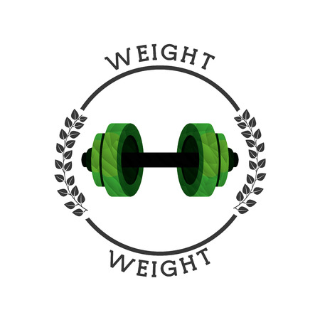 gym equipment: gym equipment design, vector illustration