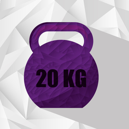 the equipment: gym equipment design, vector illustration   Illustration