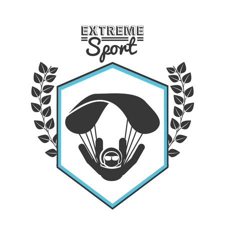 extreme sport: extreme sport design, vector illustration