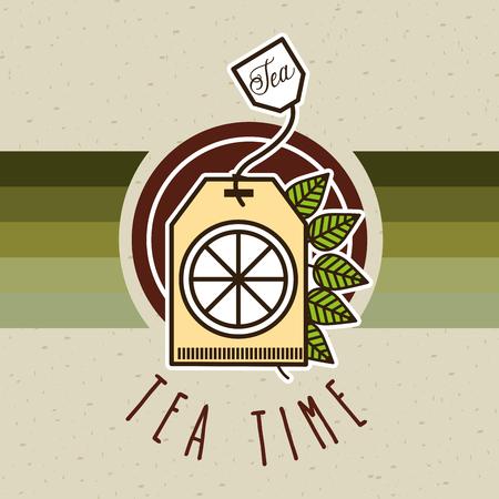 delicious: delicious tea design, vector illustration  Illustration