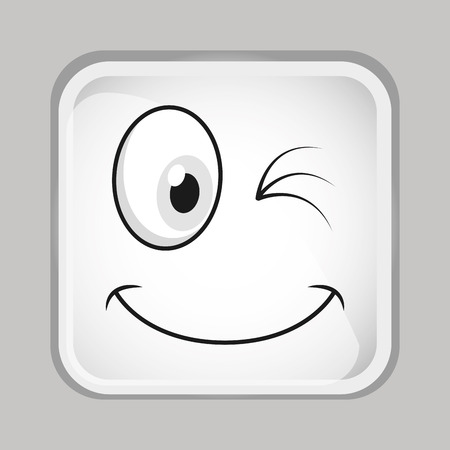 emoticon face design Zdjęcie Seryjne - 45036740