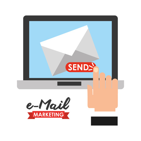 email icons: email marketing design