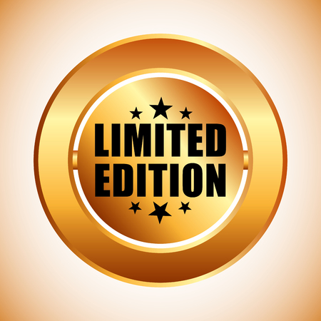 certificated: limited edition design, vector illustration eps10 graphic Illustration