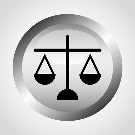judicial system: justice icon design, vector illustration eps10 graphic