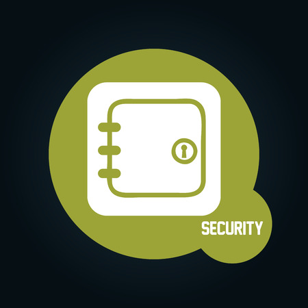 guard box: security icon design, vector illustration eps10 graphic