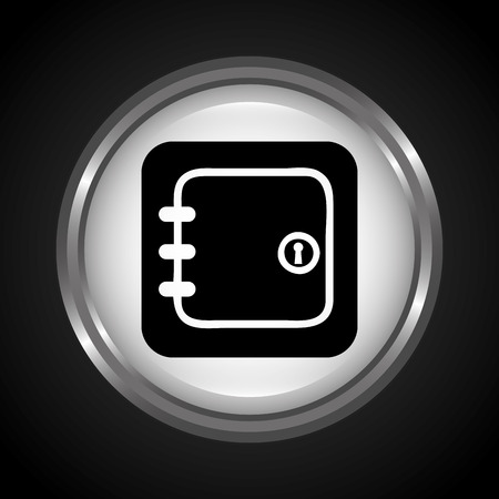guard box: security icon design, vector illustration eps10 graphic