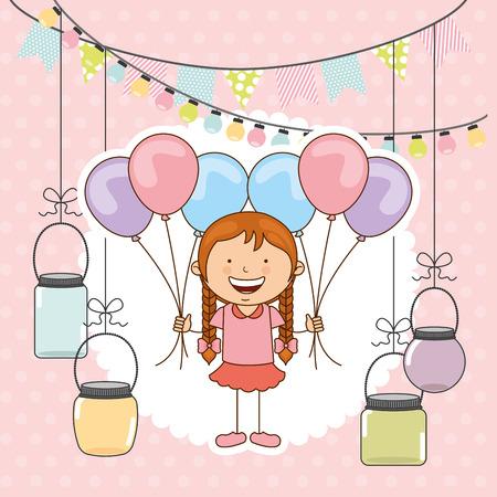 celebration party: celebration party design, vector illustration eps10 graphic Illustration