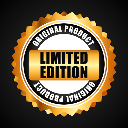 limited edition design, vector illustration eps10 graphic Illustration