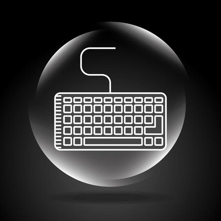 eps10: computer icon design, vector illustration eps10 graphic Illustration