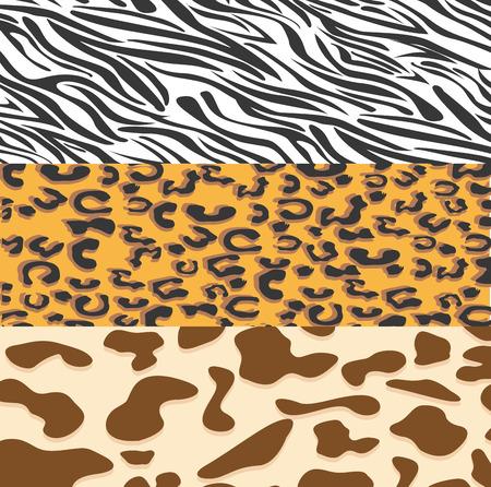 sweet background: animal print design, vector illustration eps10 graphic Illustration