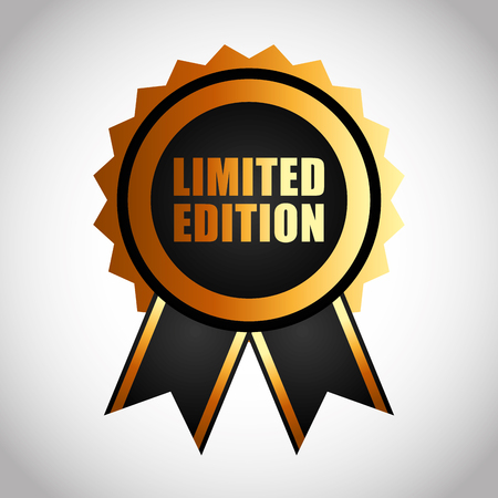 edition: limited edition design, vector illustration eps10 graphic Illustration