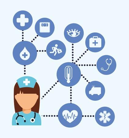 医療コンセプト デザイン、ベクトル図 eps10 グラフィック