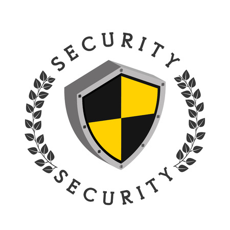 eps10: security concept design, vector illustration eps10 graphic Stock Photo