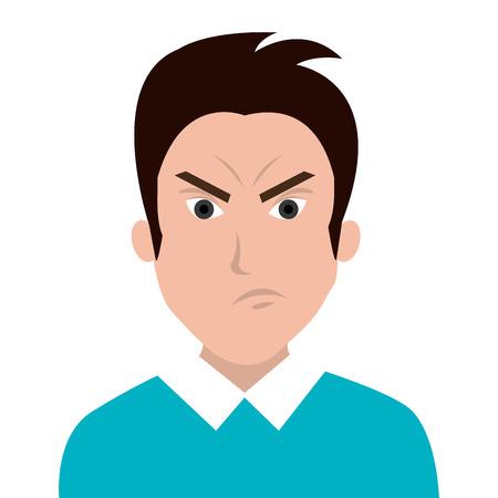 emotion: People feelings and emotion Illustration