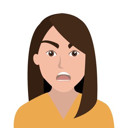 emozioni: Persone sentimenti ed emozioni Vettoriali