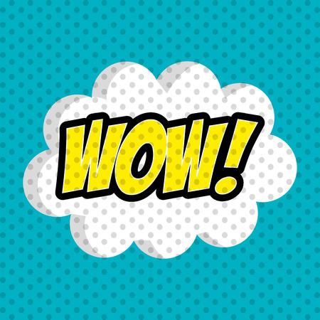 wow: El arte pop y el diseño de historietas