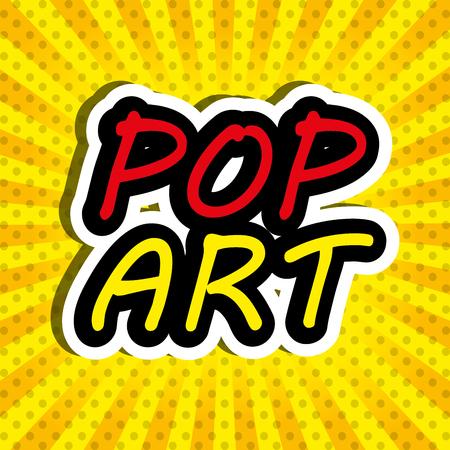 fission: Pop art and comic design