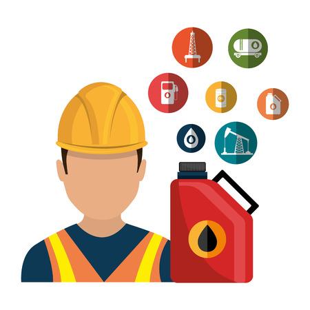 trabajador petroleros: Industria del petróleo y el petróleo